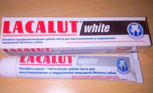 Зубная паста Lakalut White