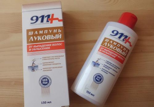 Шампунь Твинс Тэк Луковый 911