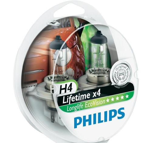 Галогеновые с повышенным сроком службы (Philips LongLife EcoVision)