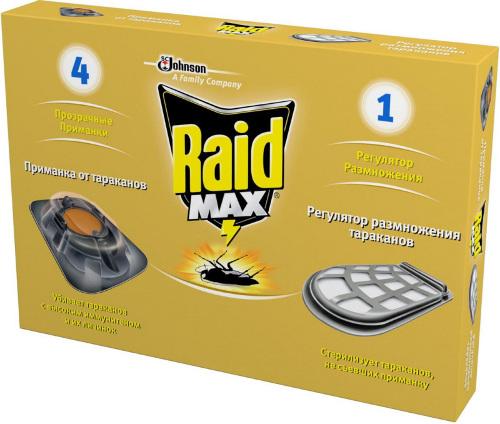 Средство Raid от тараканов