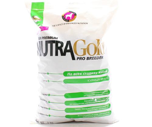 Корм для собак Nutra Gold