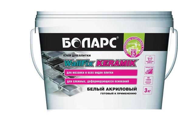 Боларс WallFix Keramik